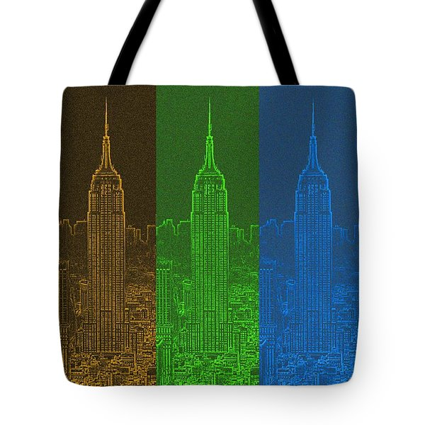 Esb Spectrum Tote Bag by Meandering Photography