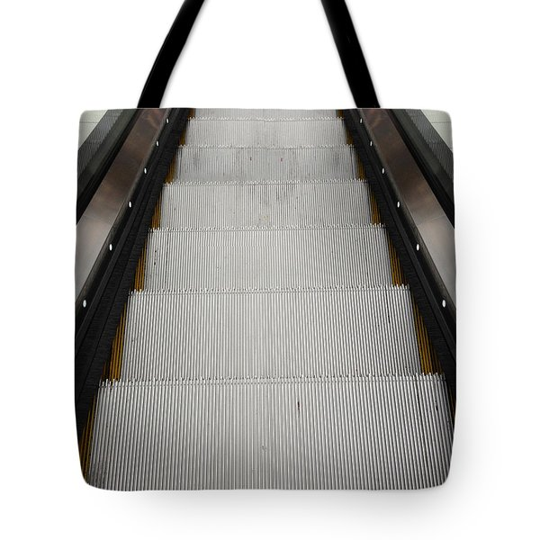 Escalator Tote Bag by Les Cunliffe