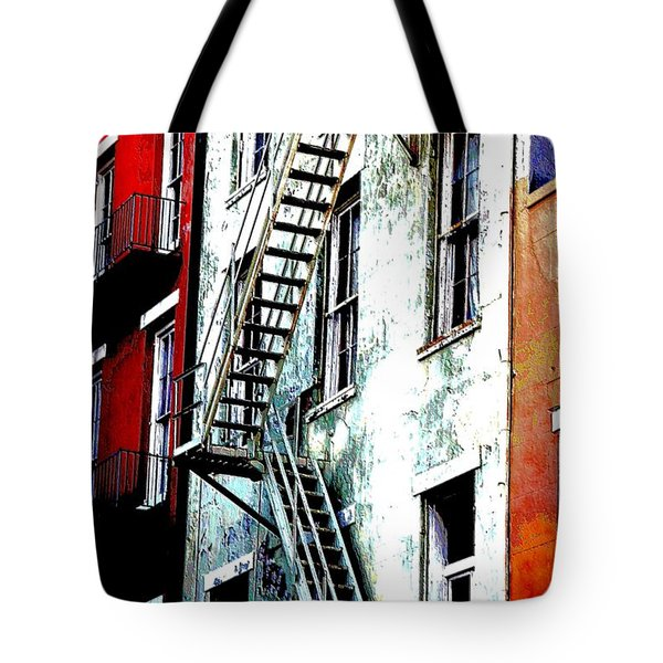 Escape Tote Bag by Kathy Bassett