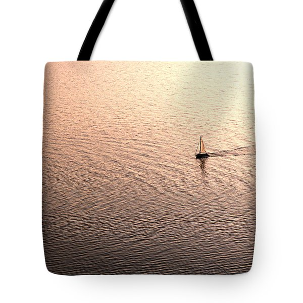 Tote Bag featuring the photograph Escape by Lana Enderle