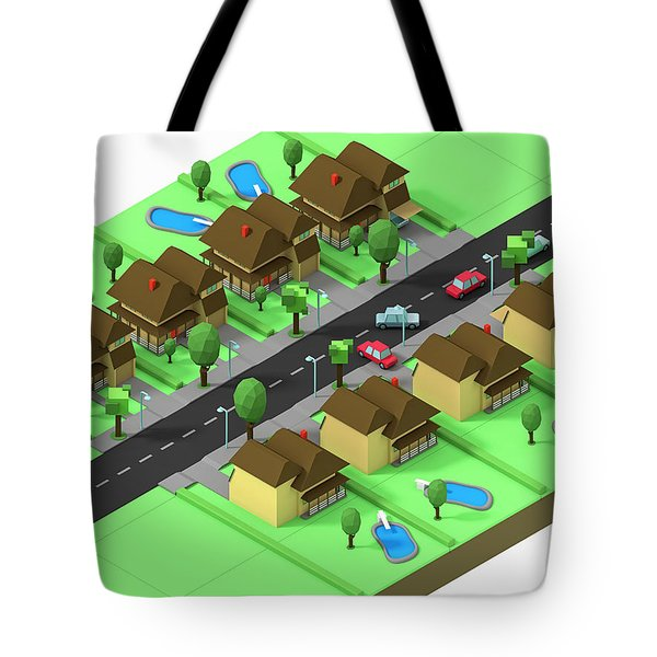 Escape Suburbia Tote Bag