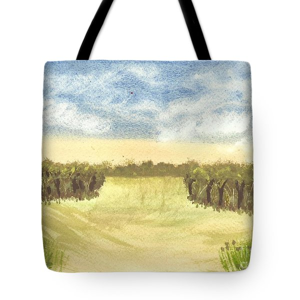 Escape To The Country Tote Bag by Tracey Williams