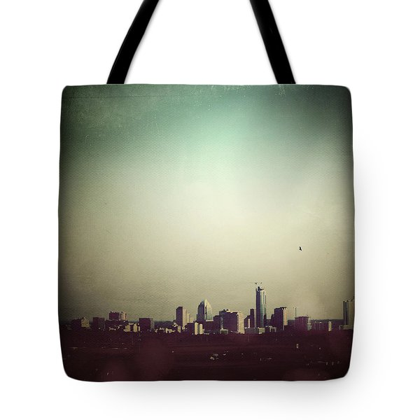 Escaping The City Tote Bag by Trish Mistric