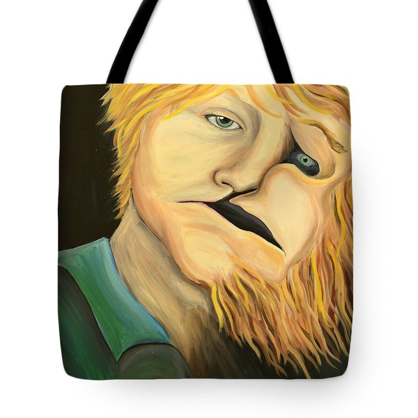 Escaping The Inner Beast Tote Bag
