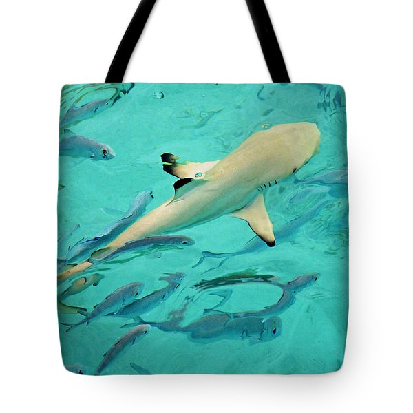 Escort  Tote Bag by Jenny Rainbow