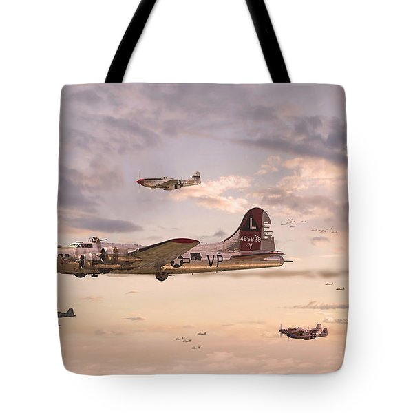 Escort Service Tote Bag by Pat Speirs