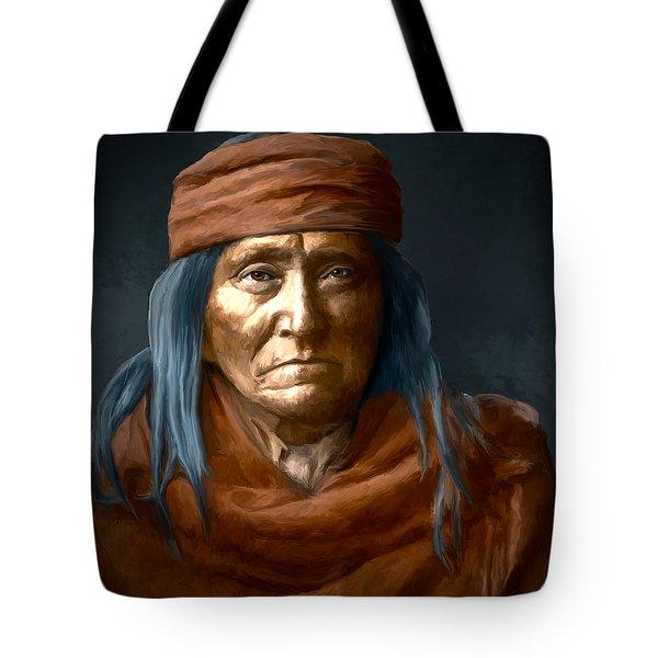 Eskadi - Apache Tote Bag