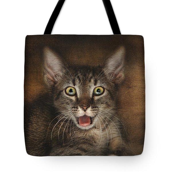 Esmarelda Yawns Tote Bag