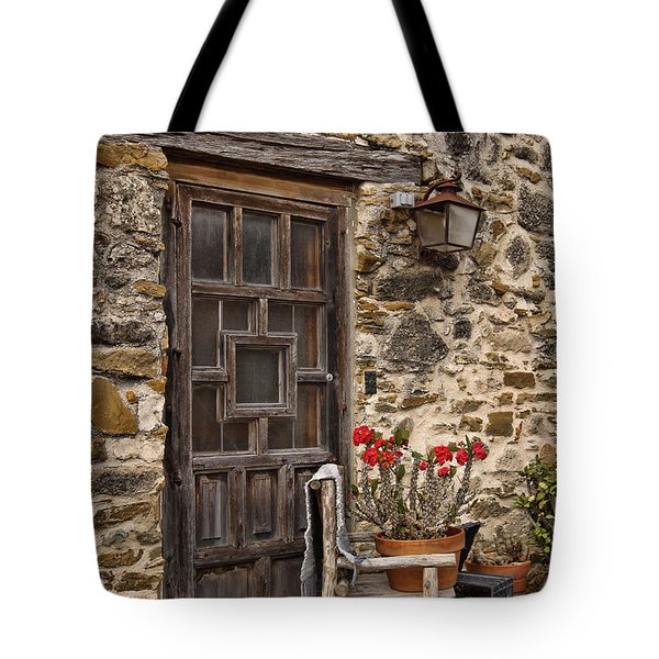Espada Mission Door Tote Bag