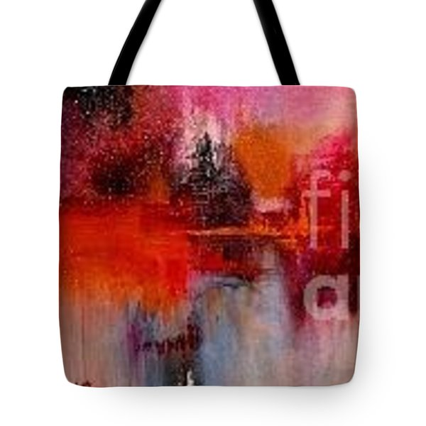 Espressions Of Reflections Tote Bag
