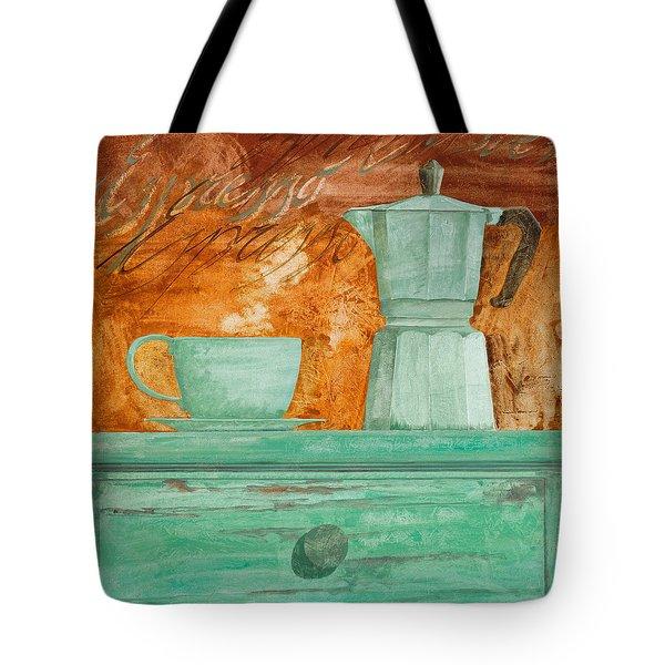 Espresso Tote Bag by Guido Borelli
