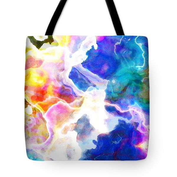Essence - Abstract Art Tote Bag by Jaison Cianelli