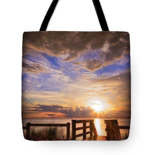 Essence Of Light Tote Bag