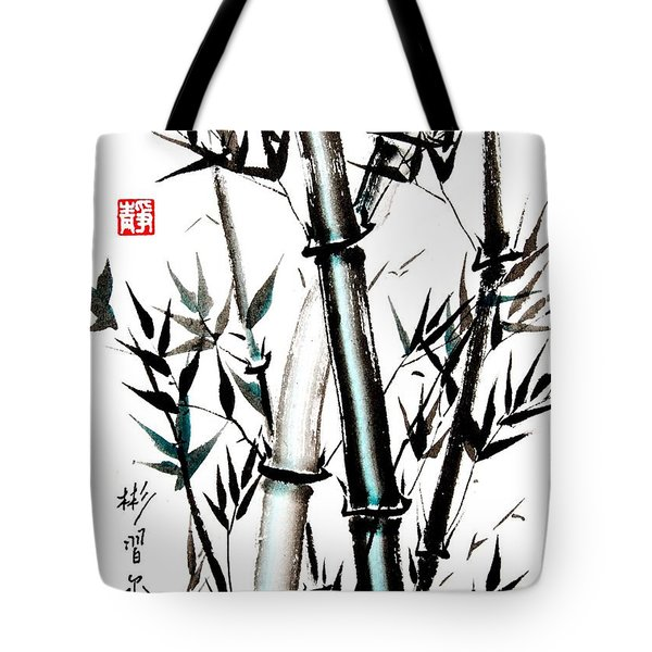 Tote Bag featuring the painting Essence Of Strength by Bill Searle