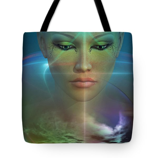 Tote Bag featuring the digital art Essence by Shadowlea Is