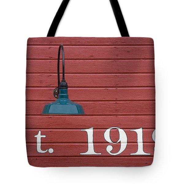 Est 1919 Tote Bag