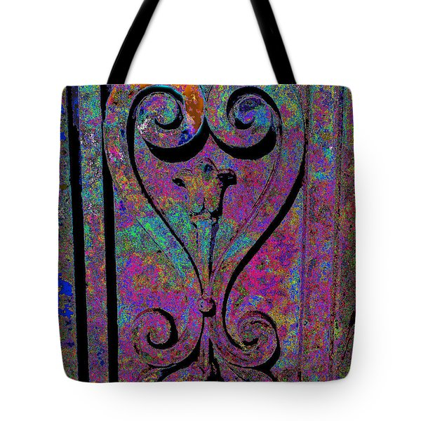 Etched Love Tote Bag