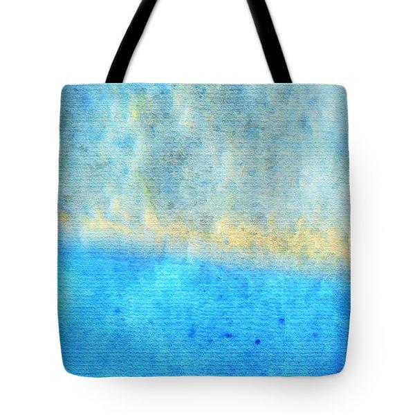 Eternal Blue - Blue Abstract Art By Sharon Cummings Tote Bag by Sharon Cummings