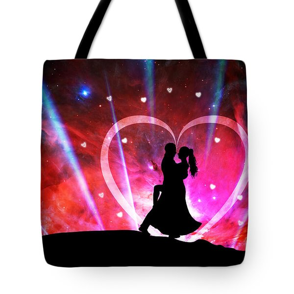Eternal Love Tote Bag by Phill Petrovic