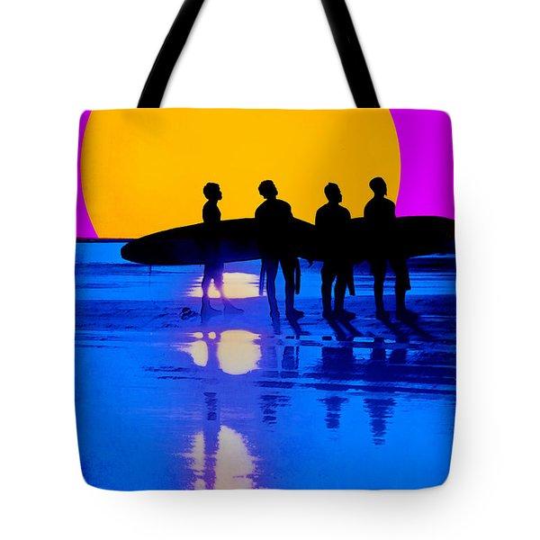 Eternal Summer Tote Bag by Lisa Knechtel