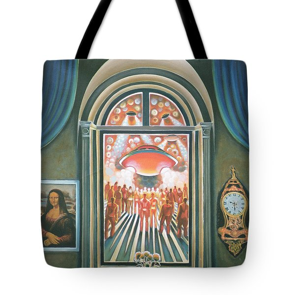 Eternity, 1968 Oil On Canvas Tote Bag