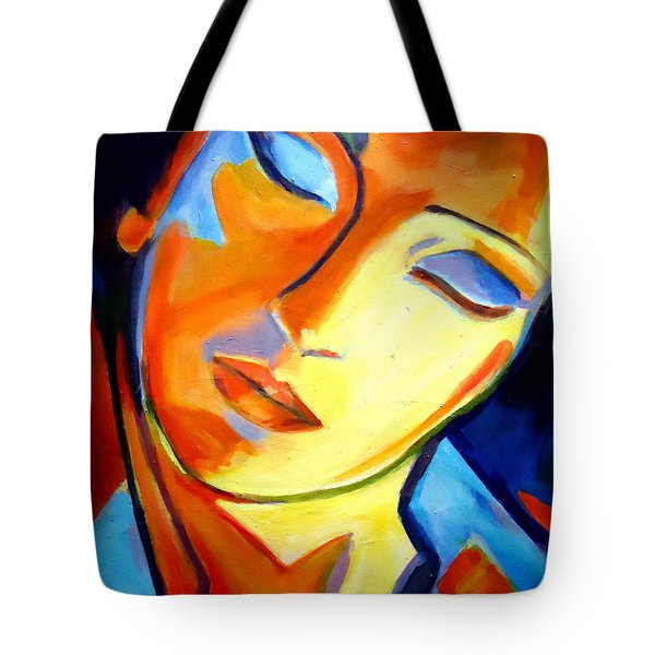 Tote Bag featuring the painting Eternity by Helena Wierzbicki