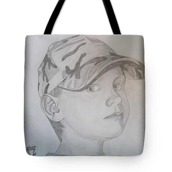 Ethan Age 6 Tote Bag by Justin Moore