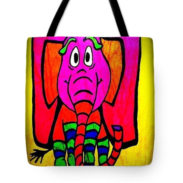 Ethel The Elephant Tote Bag