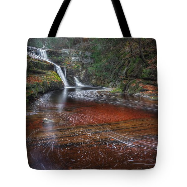 Tote Bag featuring the photograph Ethereal Autumn by Bill Wakeley