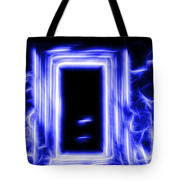 Ethereal Doorways Blue Tote Bag