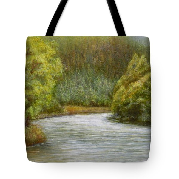 Ethereal River Tote Bag