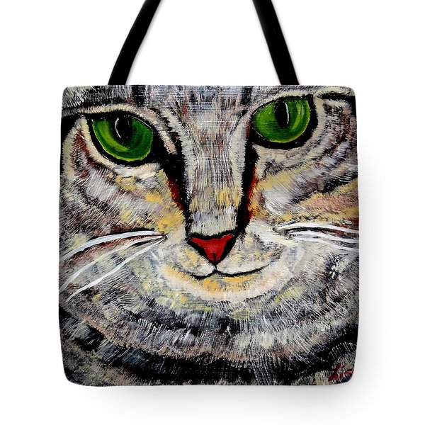 Ethical Kitty See's Your Dilemma Tote Bag