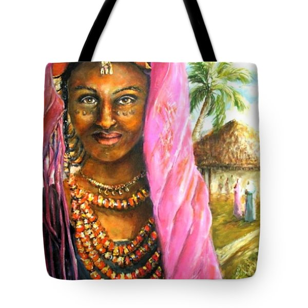 Ethiopia Bride Tote Bag