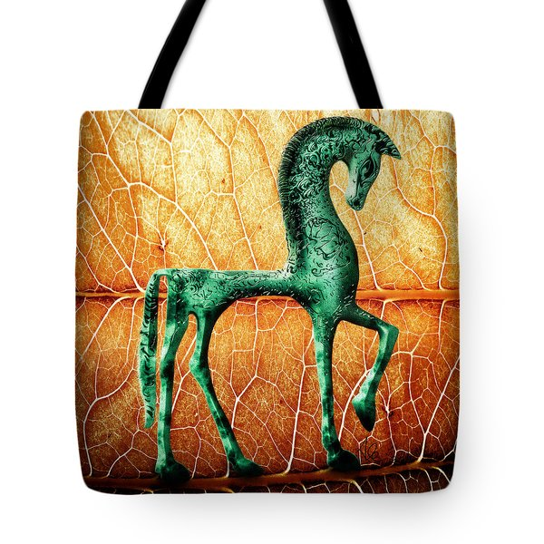 Etruscan Horse Tote Bag