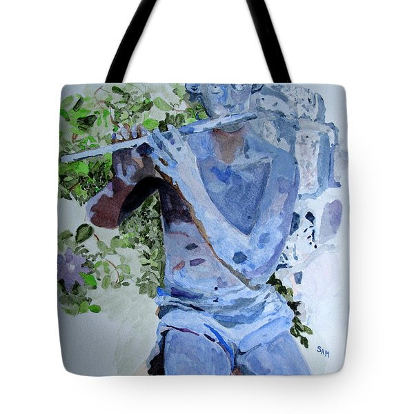 Etude Tote Bag by Sandy McIntire
