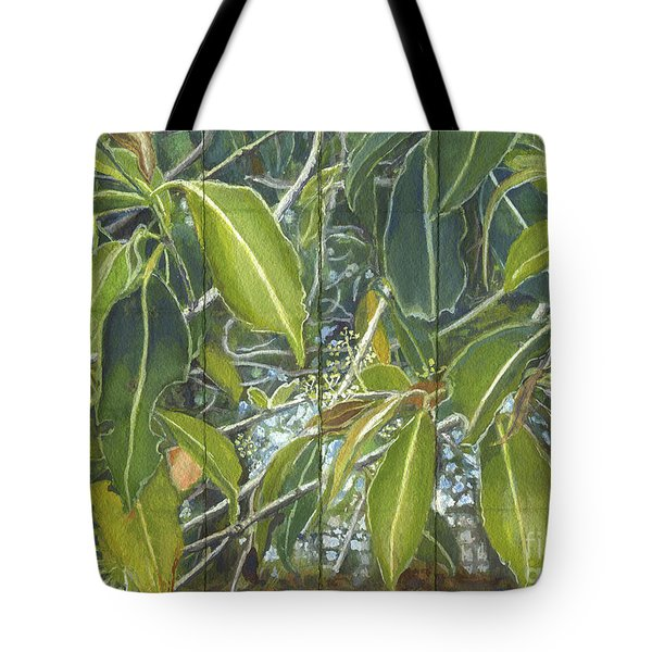 Euca - Leaves Section Tote Bag