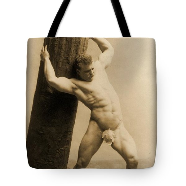 Eugen Sandow Tote Bag by American School