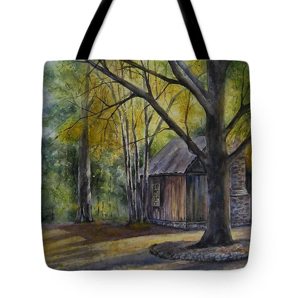 Eulah's Gold Tote Bag by Mary McCullah