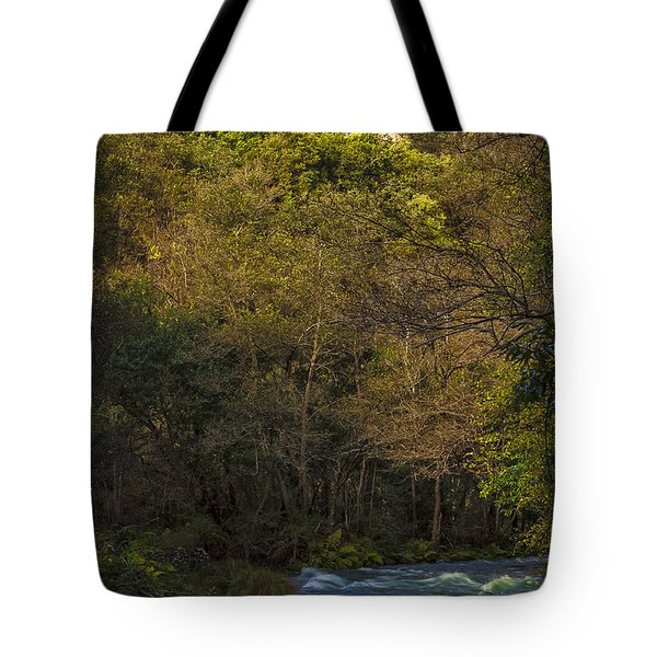 Tote Bag featuring the photograph Eume River Galicia Spain by Pablo Avanzini
