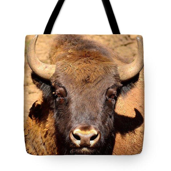 European Bisons Tote Bag by Tommytechno Sweden
