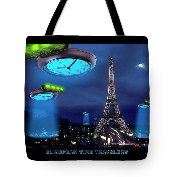European Time Traveler Tote Bag by Mike McGlothlen