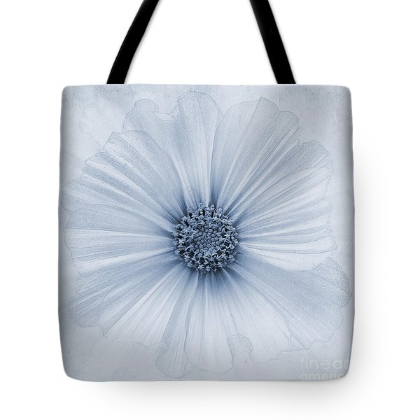 Evanescent Cyanotype Tote Bag by John Edwards