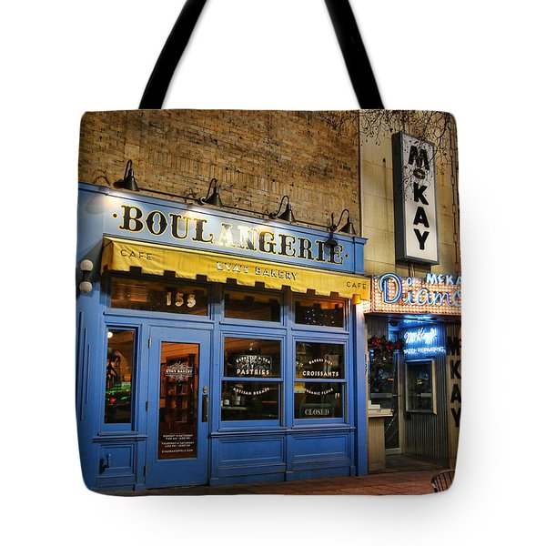 Tote Bag featuring the photograph Eva's Bakery  by Ely Arsha