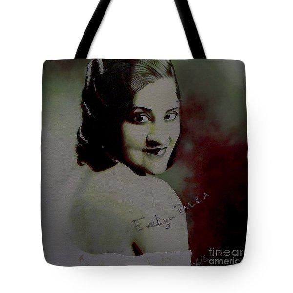 Evelyn Preer Tote Bag