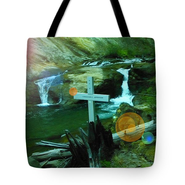 Even After The Ashes Love Remains  Tote Bag by Jeff Swan