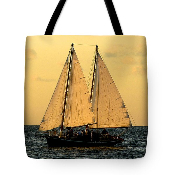 More Sails In Key West Tote Bag
