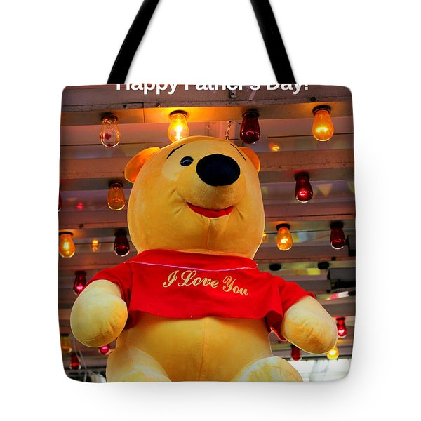Even Pooh Knows Card Tote Bag