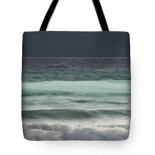 Even Tides Tote Bag