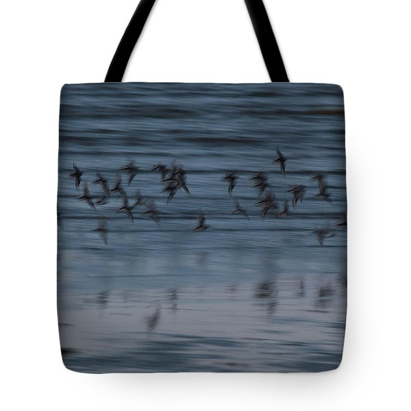Tote Bag featuring the photograph Evening Abstract by Alex Lapidus