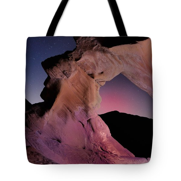 Evening Arch Tote Bag by Rick Berk